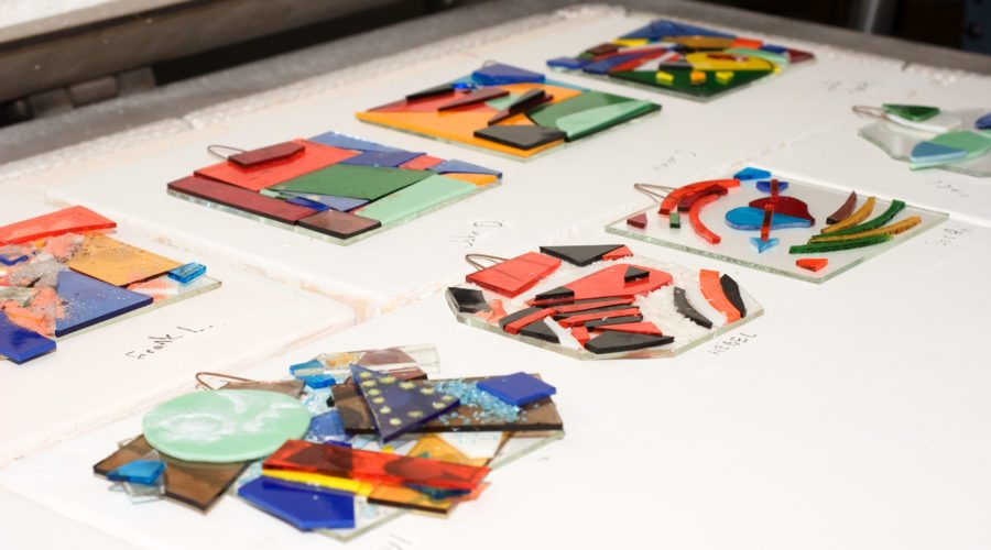 Studio_Hangings_Fused Glass