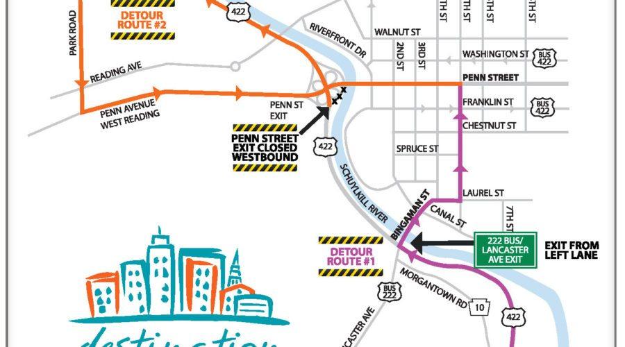 Penn-Street-Detour-Map-Final